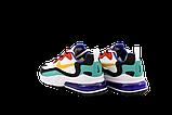 Мужские кроссовки Nike Air Max 270 React (Premium-lux) разноцветные, фото 5