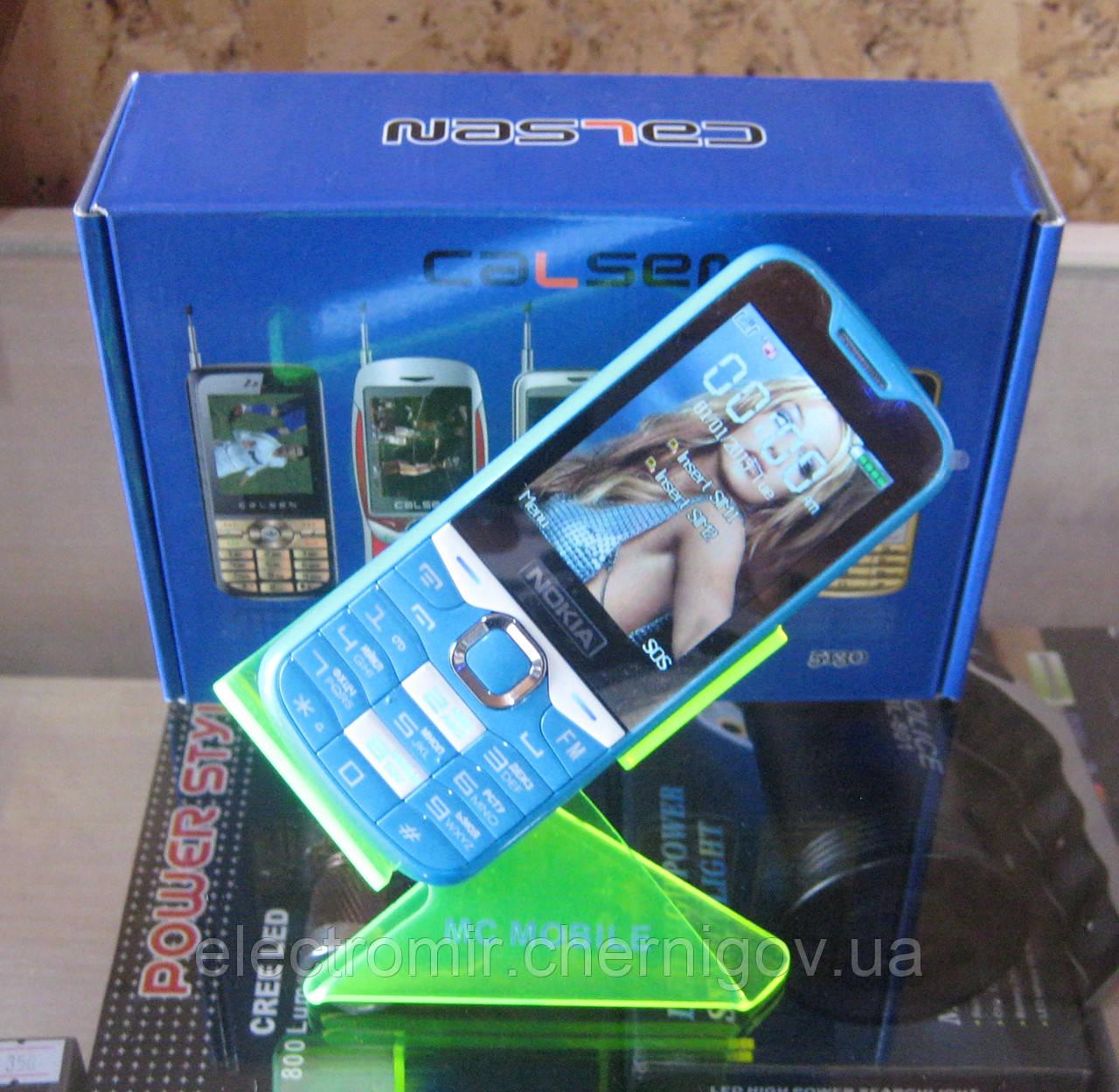 Мобильный телефон Nokia 5180 (синий) (реплика)