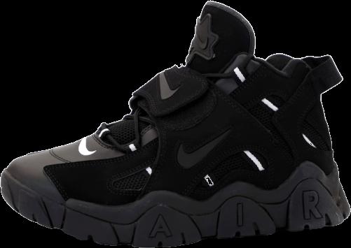 Мужские кроссовки Nike Air Barrage (Premium-lux) черные