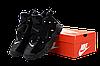Мужские кроссовки Nike Air Barrage (Premium-lux) черные, фото 6
