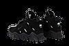 Мужские кроссовки Nike Air Barrage (Premium-lux) черные, фото 5