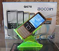 Мобильный телефон Nokia Q670 (желтый) (реплика), фото 1