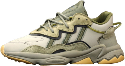 Мужские кроссовки adidas Ozweego (адидас озвиго) бежевые