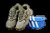 Мужские кроссовки adidas Ozweego (адидас озвиго) бежевые, фото 5