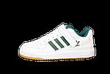 Мужские кроссовки adidas Forum (адидас форум) белые, фото 3