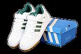 Мужские кроссовки adidas Forum (адидас форум) белые, фото 6
