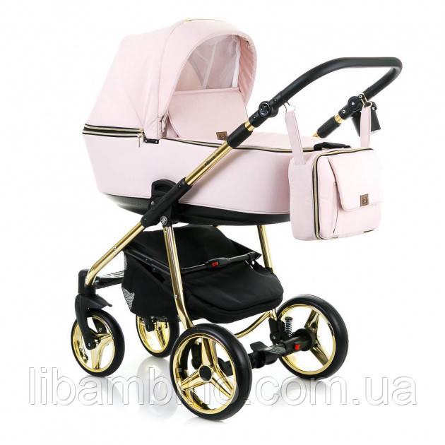 Дитяча універсальна коляска 2 в 1 Adamex Reggio Limited Chrome Y813