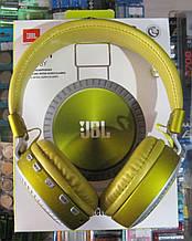Наушники беспроводные JBL T500BY (желтые)