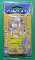 Наушники вакуумные Avalanche AEF-03-MP3-261 (розовые)