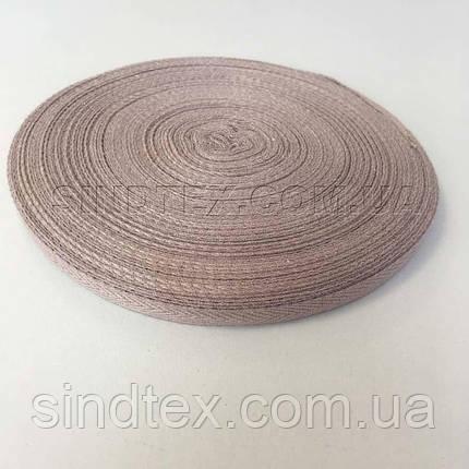 Кофейная киперная лента 1 см (киперная тесьма 10мм) (6-БК-008), фото 2