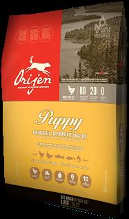 Сухой корм Orijen Puppy 40/20 для щенков мелких и средних пород 2 кг