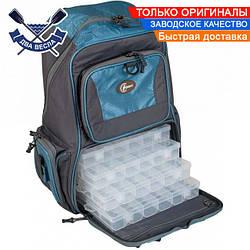 Водонепроницаемый рюкзак 35 л туристический 50х37х22 см + 4 пластиковые коробки 27х18х4 см