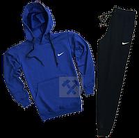 Трикотажный костюм Nike (найк) темно-синий с черным