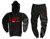 Трикотажный костюм UFC (ЮФС) черный