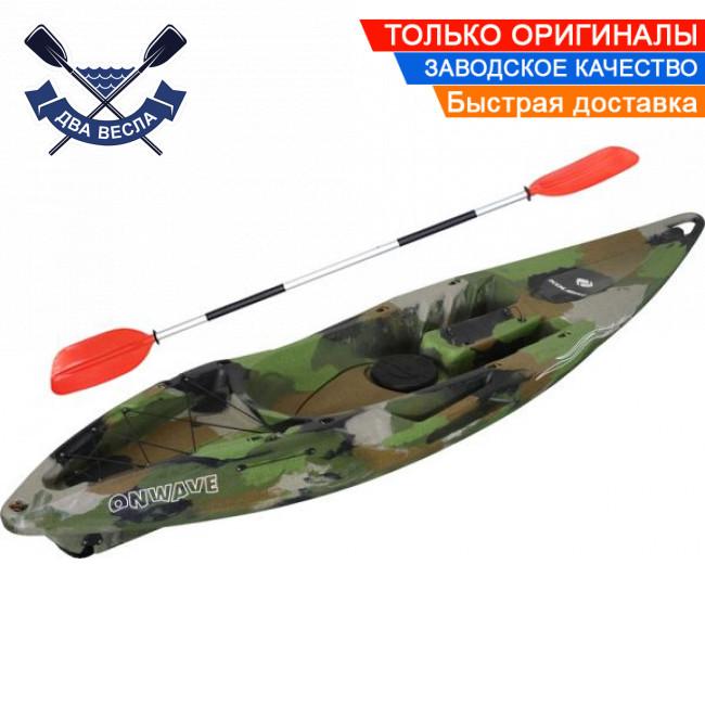 Корпусный каяк Kolibri OnWave-300 Камуфляж одноместный, из HDPE-RM,