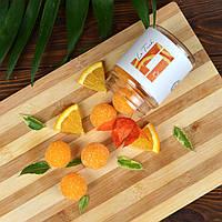 Натуральный сахарный скраб для тела апельсин Le Tuch