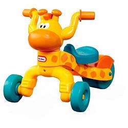 Детский беговел каталка (3-колесный, до 23 кг), Жираф - Little Tikes, 12м+ (627170)