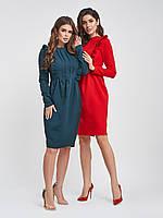 Офисное платье приталенного кроя S, M, L, XL