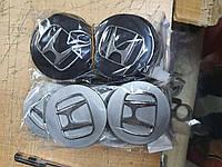Колпачки, заглушки на диски Хонда Honda 70 мм хром, фото 1