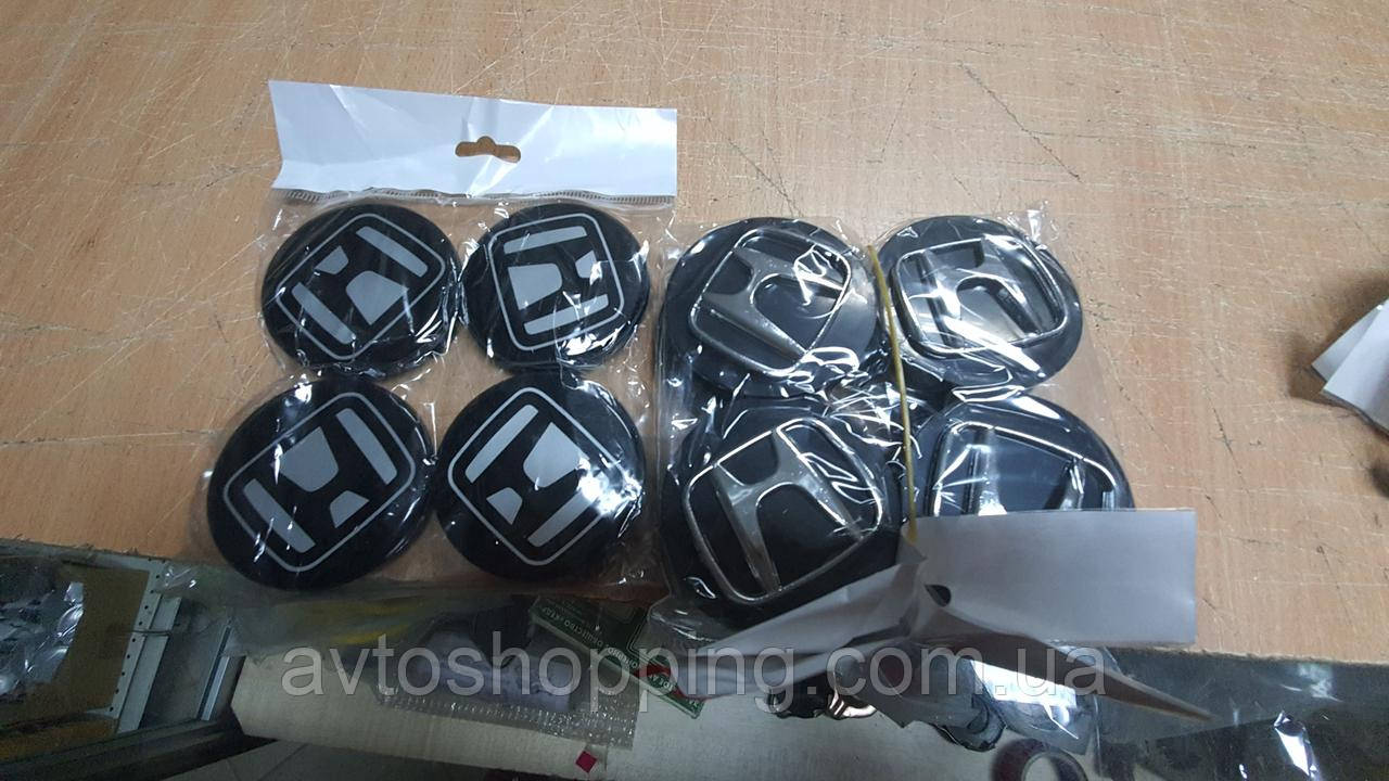 Ковпачки, заглушки на диски Honda Хонда 60 мм / 56 мм