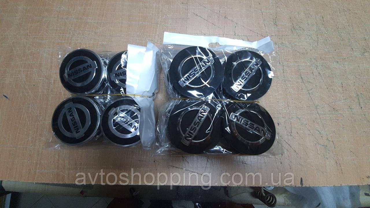 Ковпачки, заглушки на диски Nissan Ніссан 60 мм / 57 мм KE 409-60C60