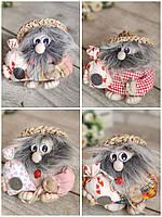 """Домовик оберіг - лялька """"Єрмолка ручної роботи, для декору, выс. 13 см., 105/85 (цена за 1 шт. + 20 гр)"""