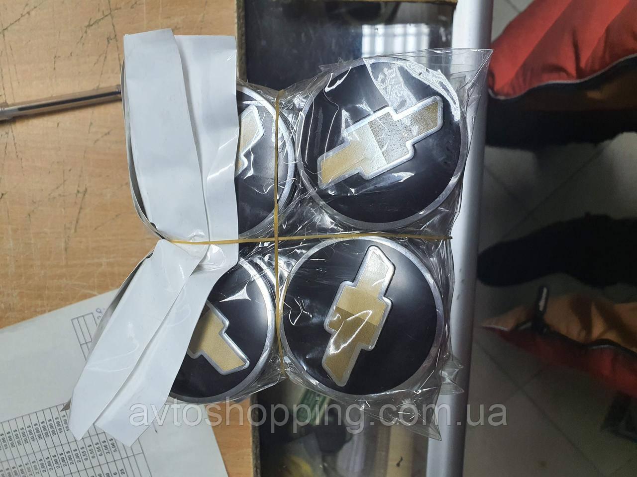 Колпачки, заглушки на диски Шевроле Chevrolet  60 мм / 56 мм