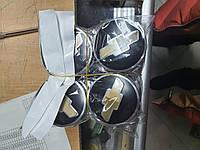 Колпачки, заглушки на диски Шевроле Chevrolet  60 мм / 56 мм, фото 1