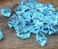 """Кристали """"Великі камені"""" осколки 1,5х1,5 см, 100 р. блакитний"""