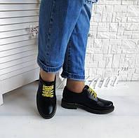 Кожаные туфли Dr Martens, фото 1