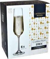 Фужери для шампанського  Collection Strix 6*200 мл