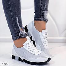 Якісні шкіряні кросівки, фото 3
