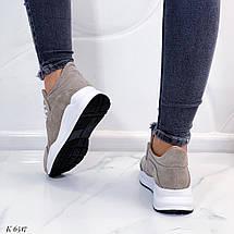 Якісні шкіряні кросівки, фото 2