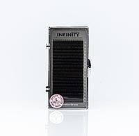 Ресницы INFINITY Ombre (зелёные кончики)   L 0.10 Mix 8-13