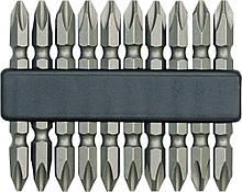 Біти двосторонні 10 шт.-2х60 мм CrV Vorel 65700