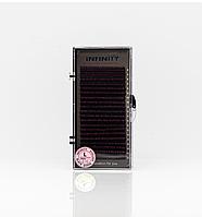 Ресницы INFINITY Ombre (розовые кончики)   L 0.10 Mix 8-13, фото 1