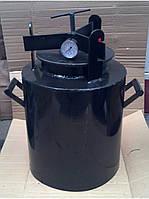 Автоклав домашний черный средний винт, газовый