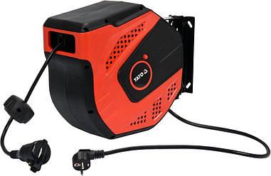 Удлинитель электрический на автоматическом барабане 20 м YATO YT-81221