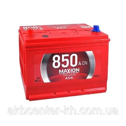 Автомобильный аккумуляторы MAXION PREMIUM ASIA 6СТ - 95 Аз JP Plus L