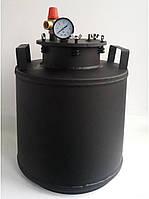 Автоклав черный мини (болты, газ)