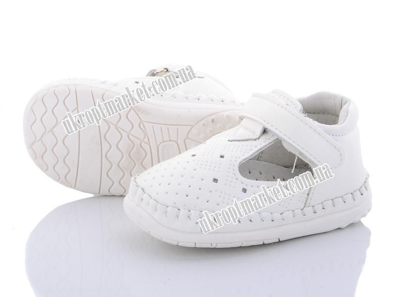 "Туфли детские C1913 white (8 пар р.17-20) ""Clibee-Doremi"" GB-1250"