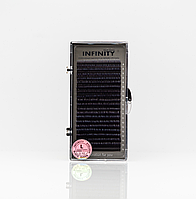 Ресницы INFINITY Ombre (белые кончики)   L 0.10 Mix 8-13, фото 1