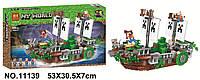 "Конструктор Bela 11139 ""Битва на реке"" ( Lego Майнкрафт, Minecraft), 630 дет."