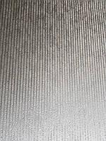 Обои виниловые на флизелине Marburg Art deco 31966 метровые полосы тонкие структурные бежевые с серебром