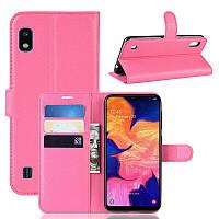 Чехол-книжка Litchie Wallet для Samsung A102 Galaxy A10e Rose