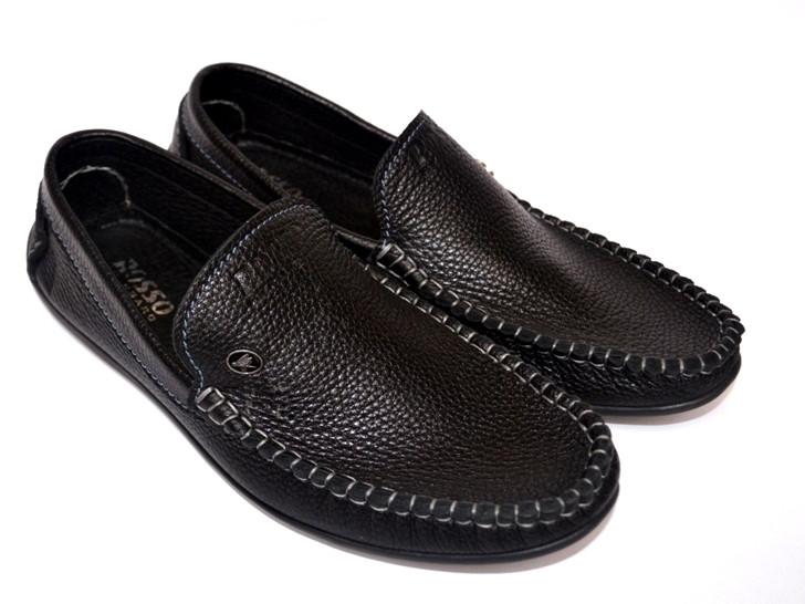 Обувь больших размеров мужская мокасины кожаные комфортная стильная Rosso Avangard BS Guerin M4 Pelle Bolla
