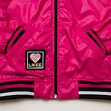 Куртка ветровка, для подростка на подросткладе SmileTime Fashion Time, малиновый, фото 4