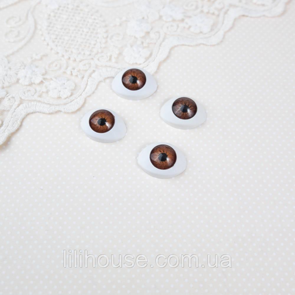 Глазки для Кукол Пластиковые РЫБКИ 22*16 мм КАРИЕ