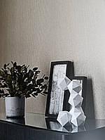 Обои виниловые на флизелине Marburg Art deco 31974 метровые однотонные песочные мелкая полоска под ткань, фото 1