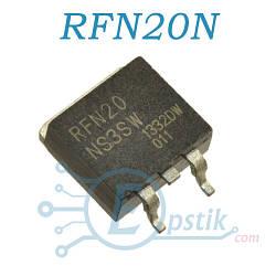 RFN20N, диод super fast, 350В 20А, TO263